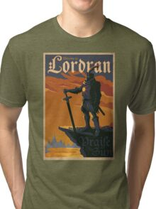 Welcome to Lordran Dark Soul Tri-blend T-Shirt