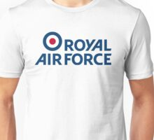 royal air force raf logo Unisex T-Shirt