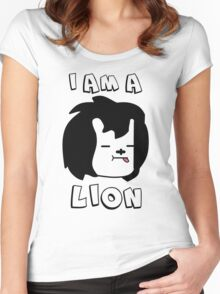 I am a Lion Women's Fitted Scoop T-Shirt