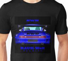 Rauh Welt Begriff 06 Blue Unisex T-Shirt