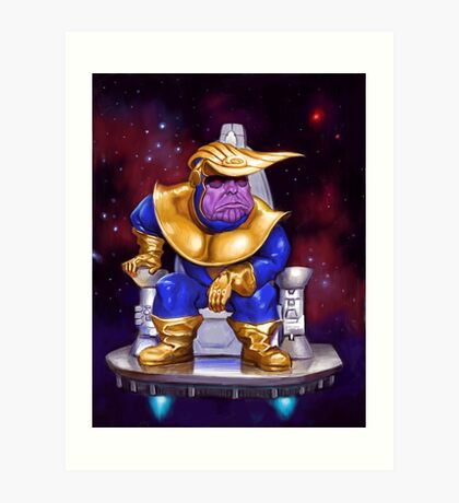 Thanos Trump Art Print