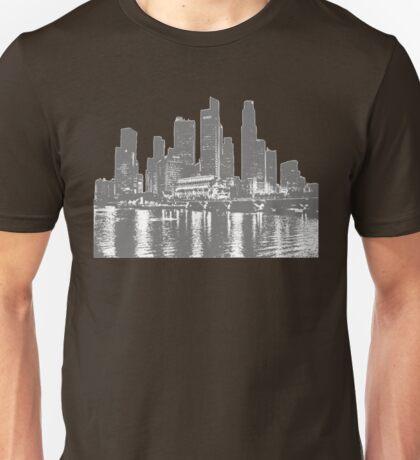 New york sky line Unisex T-Shirt