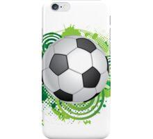 Dynamic football design iPhone Case/Skin