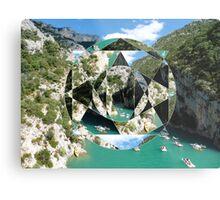 puzzle river Metal Print