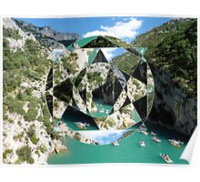 puzzle river Poster