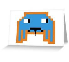 Evil Invader Greeting Card