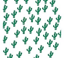 Cactus Pattern Funny Print Photographic Print