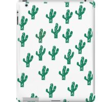 Cactus Pattern Funny Print iPad Case/Skin