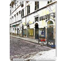 L'Aquila: street buildings and shops iPad Case/Skin