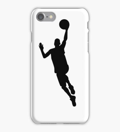 Basketball player iPhone Case/Skin