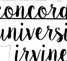 Concordia University Irvine Sticker