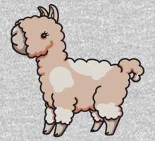 Llama - Peachy One Piece - Short Sleeve