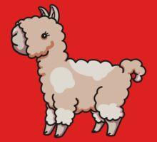 Llama - Peachy One Piece - Long Sleeve