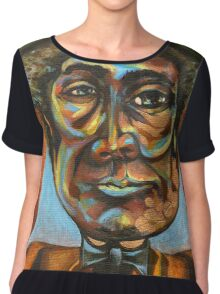 "Louis ""Pops"" Armstrong Chiffon Top"