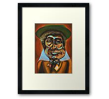 """Louis """"Pops"""" Armstrong Framed Print"""