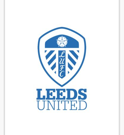 Leeds United iPhone Case Sticker
