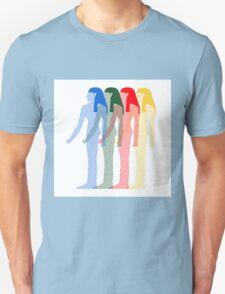 Hipster goddess design Unisex T-Shirt