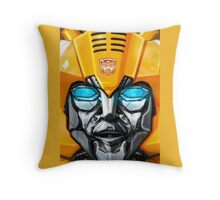 Bumblebee Head   Throw Pillow