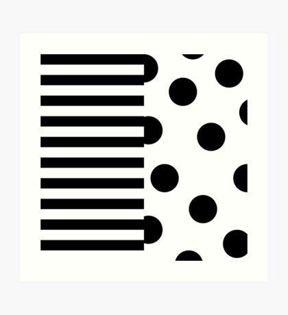 Unique Hip pattern Art Print