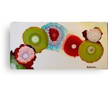 """""""Geodes"""" - Colorful Unique Original Artist's Floral Design! Canvas Print"""