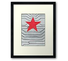 You Need an Arm to Hold a Shield Framed Print