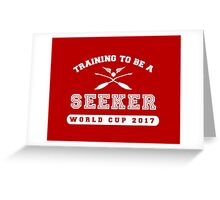 Training to be a Seeker Greeting Card
