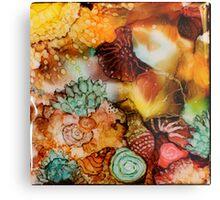 """Under the Sea 2"" Colorful Unique Original Artist's Design! Metal Print"