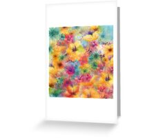 summer flowers /Agat/ Greeting Card