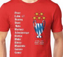 Bayern Munich 2013 Champions League Winners Unisex T-Shirt