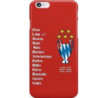 Bayern Munich 2013 Champions League Winners iPhone Case/Skin