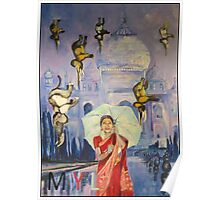 ELEPHANT RAIN Poster