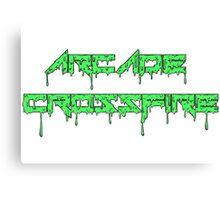 Green Slime Canvas Print