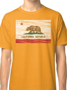 Vintage California Republic flag Classic T-Shirt