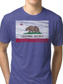Vintage California Republic flag Tri-blend T-Shirt