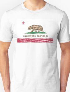Vintage California Republic flag Unisex T-Shirt