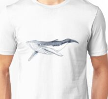 Humpback whale baby Unisex T-Shirt