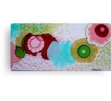 """Geodes"" Colorful Unique Original Original Artist's Painting! Canvas Print"