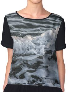 Sea Waves Chiffon Top