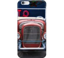 1923 Ford Roadster 'Frontal Exposure' iPhone Case/Skin
