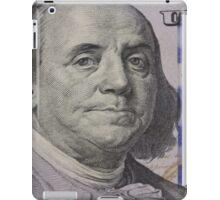 Franklin portrait on banknote iPad Case/Skin