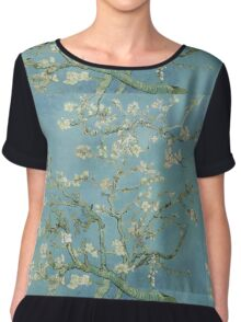 Almond blossom - Vincent Van Gogh  Impressionism  Famous Paintings Chiffon Top