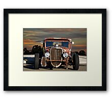 1933 Ford 'Rat Nose' Pickup  Framed Print