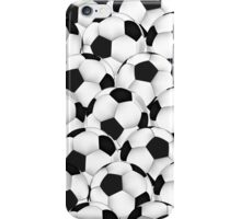 Huge collection of soccer balls iPhone Case/Skin