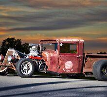 1933 Ford 'Rat Nose' Pickup II by DaveKoontz