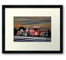 1933 Ford 'Rat Nose' Pickup II Framed Print
