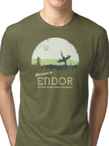 Welcome To Endor Tri-blend T-Shirt