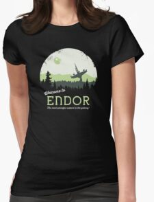 Welcome To Endor Womens Fitted T-Shirt