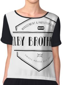 SHELBY BROTHERS LIMITED Chiffon Top
