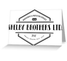 SHELBY BROTHERS LIMITED Greeting Card