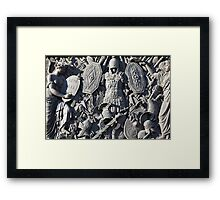 Antique weapons  Framed Print